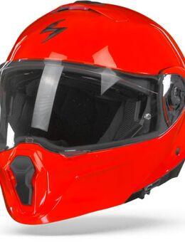 EXO-930 Solid Neon Red Modular Helmet XL