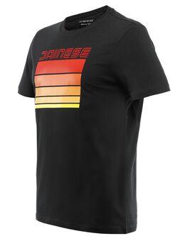 Stripes T-Shirt Black Red 3XL