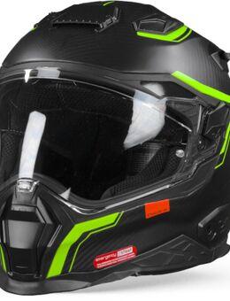 X.Wst2 Carbon Zero 2 Neon Matt Full Face Helmet 3XL