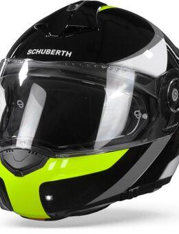 C3 Pro Sestante Black Yellow Modular Helmet M