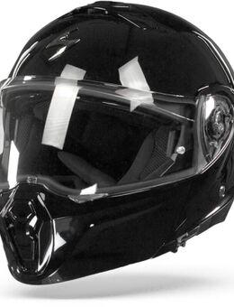 EXO-930 Solid Black Modular Helmet S