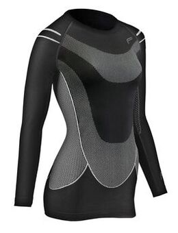 MegaLight 140 Longshirt Woman Zwart XL