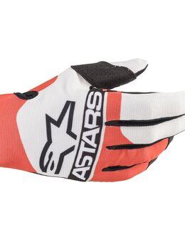 Radar Gloves Off White Red Fluo Blue S