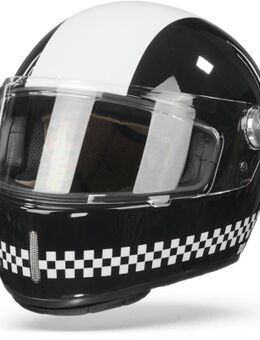 X.G100 R Finish Line Black White XL