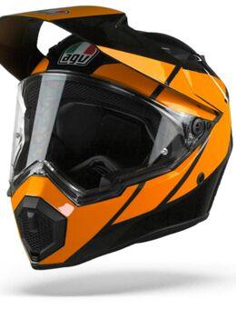 AX9 Trail Gunmetal Oranje S