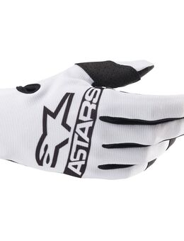 Radar Gloves White M