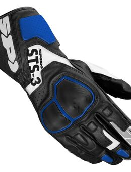 Sts-3 Black Blue Motorcycle Gloves XL