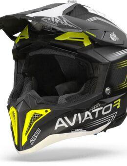 Aviator 3 Primal Carbon Flat Geel 2XL