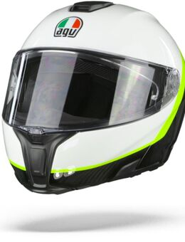 Sportmodular Ray Carbon Wit Geel Fluo 2XL