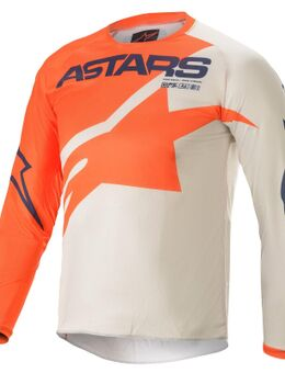 Youth Racer Braap Oranje Lichtgrijs Donkerblauw S