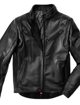 Premium Black Motorcycle Jacket 50