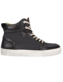 Kobe Canvas Armalith Leather Grey Black Shoes 41