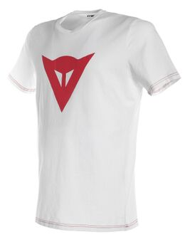 Speed Demon T-Shirt Wit Rood S