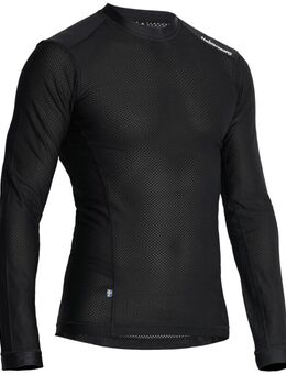 Mesh Sweater Zwart M