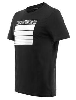 Stripes T-Shirt Black White XL