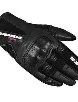 Charme 2 Black Motorcycle Gloves S