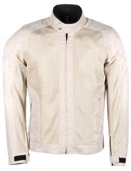 Stoner Men Tissu Mesh Silver Jacket XL