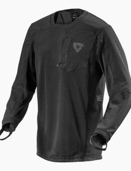 Sierra Black Motorcycle Shirt XL