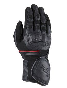 Dirt Road Lady Black Motorcycle Gloves L