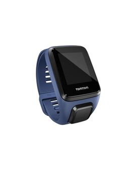 Horlogebandje (donkerblauw - large)