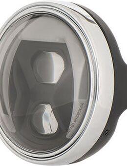 LED Scheinwerfer mit Kurvenlicht LTD Schwarz