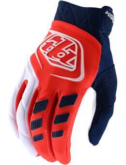 Revox Motocross Handschoenen, wit-oranje, afmeting XL
