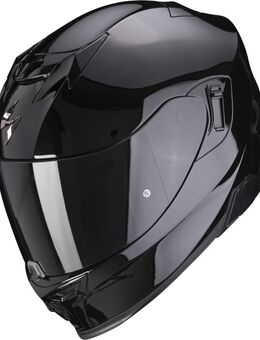 EXO-520 Air Solid Helm, zwart, afmeting XL