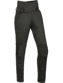 Grazia Dames Motorfiets Leggings, zwart, afmeting XL voor vrouw