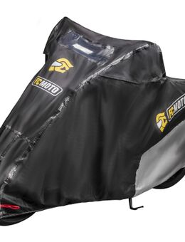 Premium Motorhoes, zwart, afmeting XL