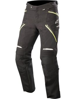Big Sure Gore-Tex Pro Motorfiets textiel broek, zwart-geel, afmeting S