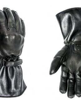 Challenger waterdichte motorfiets winterhandschoen, zwart, afmeting 2XL