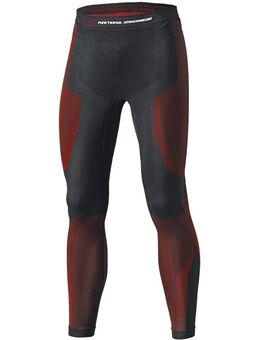 3D Skin Warm Base Functioneel ondergoed, zwart-rood, afmeting S