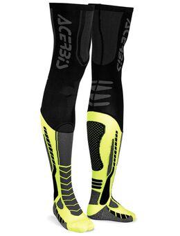 X-Leg Pro Sokken, zwart-geel, afmeting S M