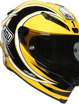 Pista GP RR Laguna Seca 2005 Carbon helm, zwart-geel, afmeting S