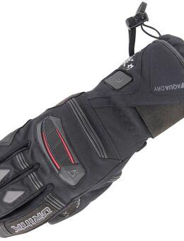 Aria Heated Verwarmde Dames Motorfiets Handschoenen, zwart, afmeting XL voor vrouw