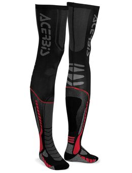 X-Leg Pro Sokken, zwart-rood, afmeting 2XL