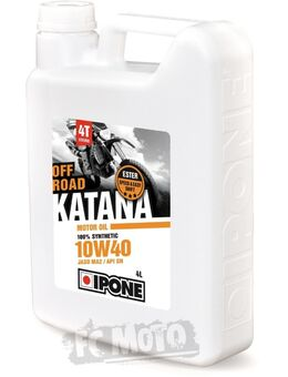 Katana Off Road 10W-40 Motorolie 4 Liter