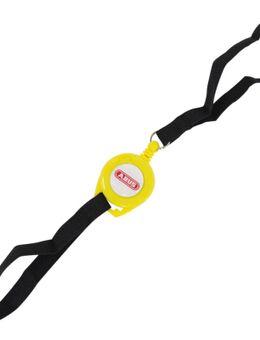 Memo Roll Up Cable Herinneringskabel, zwart-geel