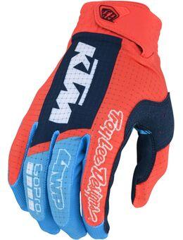 Air KTM Motorcross handschoenen, blauw-oranje, afmeting XL