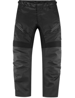 Contra2 Motortextiel / leren broek, zwart, afmeting L