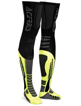 X-Leg Pro Sokken, zwart-geel, afmeting L XL