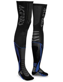 X-Leg Pro Sokken, zwart-blauw, afmeting S M