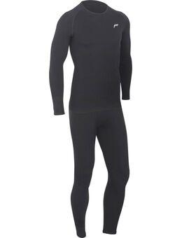 Superlight Functioneel ondergoed Set, zwart, afmeting XL
