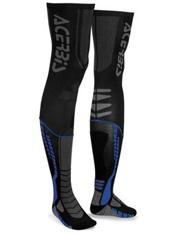 X-Leg Pro Sokken, zwart-blauw, afmeting 2XL