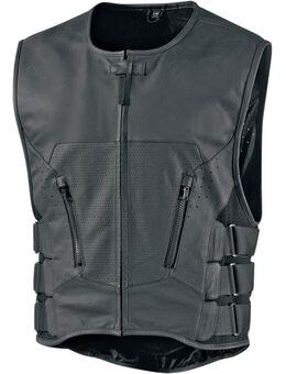 Regulator D30 Stripped Vest, zwart, afmeting L XL