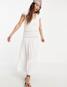 Rip Curl - Layla - Lange jurk in wit