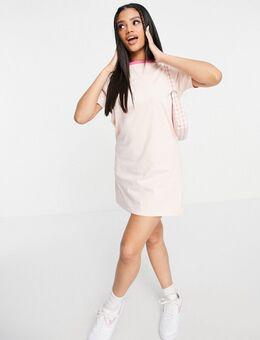 Lenie - Ringer T-shirtjurk-Roze