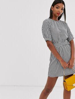 Mini-jurk met D-ring-Multi