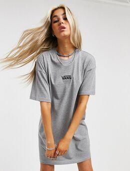 Centre Vee - T-shirtjurk in grijs