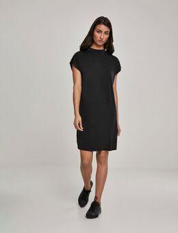 T-shirt jurk in zwart